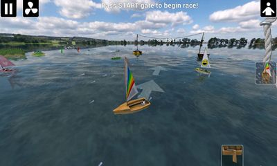 Top Sailor sailing simulator screenshot 2