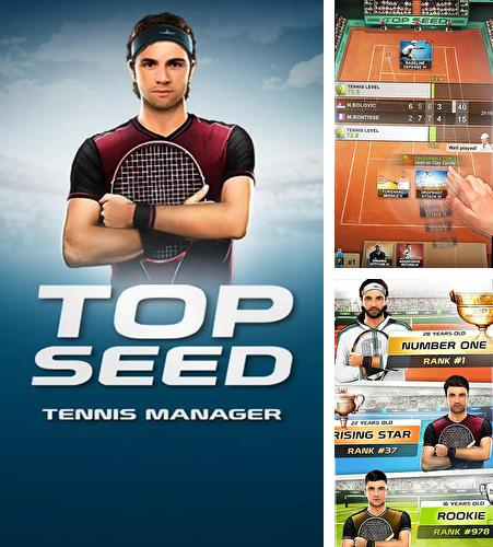 Top seed: Tennis manager