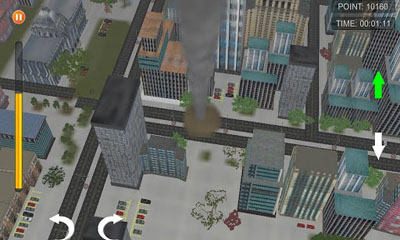 Screenshots of the Tornado for Android tablet, phone.