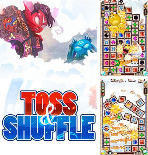 In addition to the game Tiger: The gems hunter match 3 for Android phones and tablets, you can also download Toss and shuffle for free.