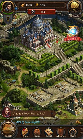 Kostenloses Android-Game Total Clash. Vollversion der Android-apk-App Hirschjäger: Die Total clash für Tablets und Telefone.
