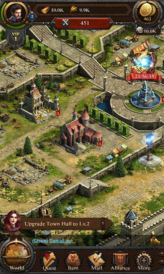 Screenshots von Total clash für Android-Tablet, Smartphone.