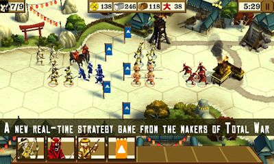 Download Total War Battles: Shogun Android free game.