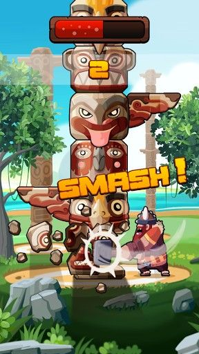 Screenshots von Totem smash für Android-Tablet, Smartphone.