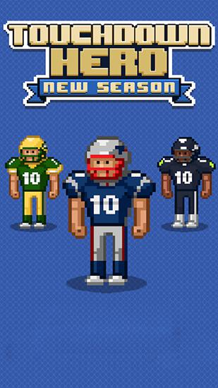 Touchdown hero: New season poster