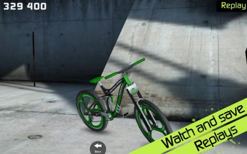 Screenshots von Touchgrind BMX für Android-Tablet, Smartphone.