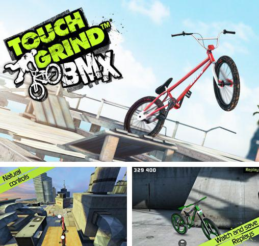 In addition to the game True Skate for Android phones and tablets, you can also download Touchgrind BMX for free.