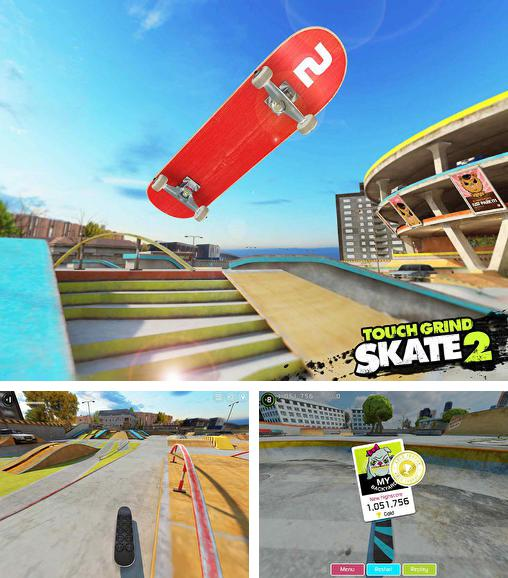 In addition to the game True Skate for Android phones and tablets, you can also download Touchgrind skate 2 for free.