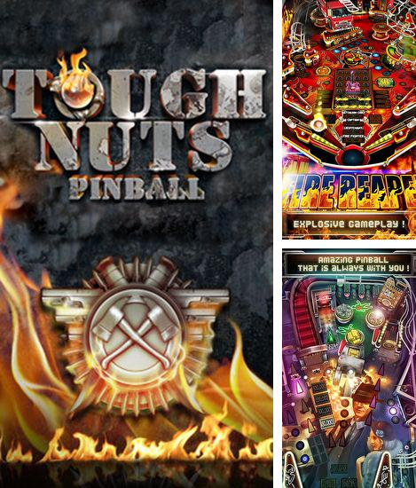 In addition to the game Monster Pinball HD for Android phones and tablets, you can also download Tough nuts: Pinball for free.