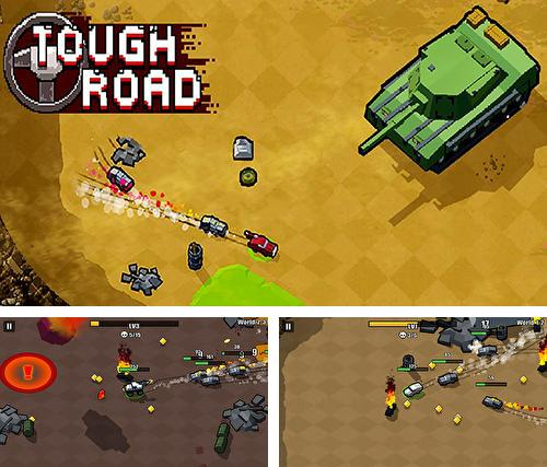 In addition to the game Tough road for Android, you can download other free Android games for Motorola Pro.