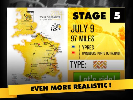 Tour de France 2014: The game screenshot 1
