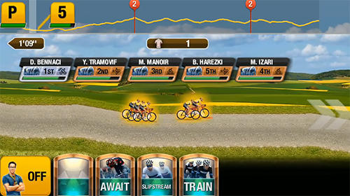 Jouer à Tour de France 2018: Official bicycle racing game pour Android. Téléchargement gratuit de Tour de France 2018.