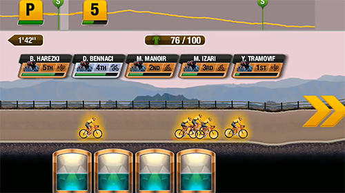 Écrans de Tour de France 2018: Official bicycle racing game pour tablette et téléphone Android.