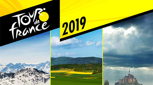 Tour de France 2019: Official game. Sports manager poster