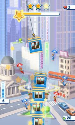 Screenshots von Tower bloxx my city für Android-Tablet, Smartphone.