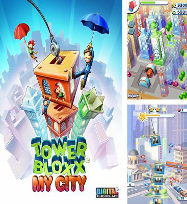 In addition to the game Nutty Fluffies Rollercoaster for Android phones and tablets, you can also download Tower bloxx my city for free.