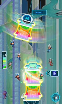 Screenshots of the Tower Bloxx Revolution for Android tablet, phone.