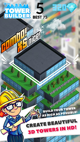 Tower builder: Build it скриншот 2