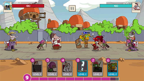 Screenshots von Tower crush: Castle crush, tower conquest für Android-Tablet, Smartphone.