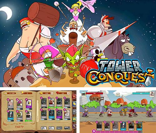En plus du jeu Créez douzaines pour téléphones et tablettes Android, vous pouvez aussi télécharger gratuitement Destruction de la tour: Destruction du château, conquête de la tour, Tower crush: Castle crush, tower conquest.