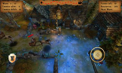 Screenshots of the Tower Defense 3D - Fantasy for Android tablet, phone.