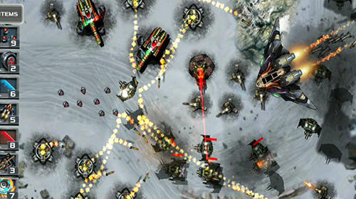 Screenshots von Tower defense: Defense zone für Android-Tablet, Smartphone.