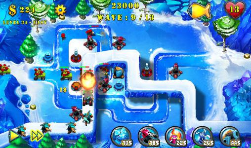 Геймплей Tower defense evolution 2 для Android телефону.