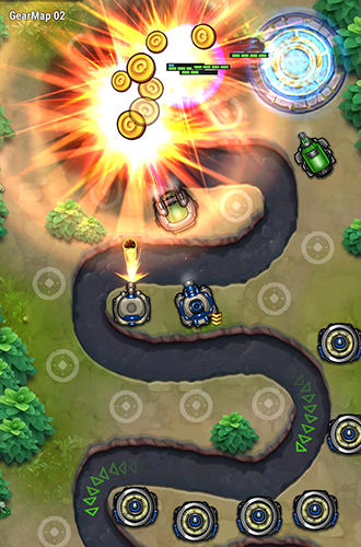 Tower defense: Galaxy 5 screenshot 1