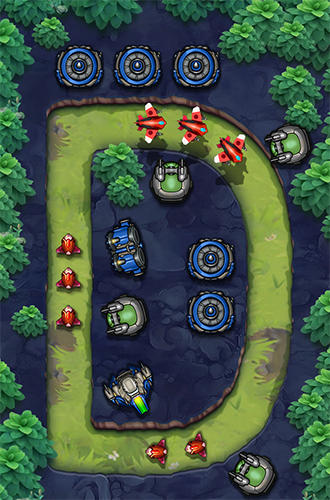 Tower defense: Galaxy 5 screenshot 3