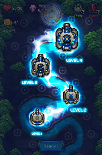 Tower defense: Galaxy 5 screenshot 4