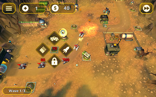 Tower defense generals TD screenshot 1