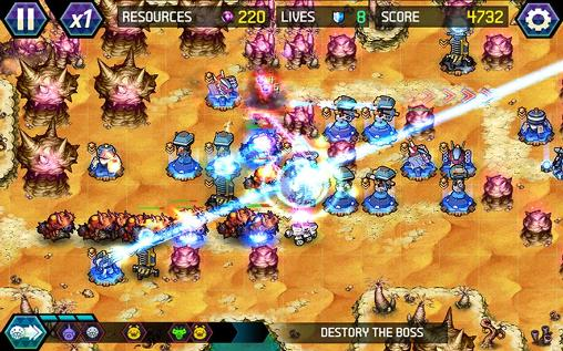 Screenshots do Tower defense: Infinite war - Perigoso para tablet e celular Android.