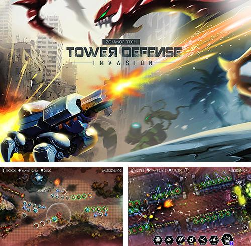 In addition to the game Cryptic Kingdoms for Android phones and tablets, you can also download Tower defense: Invasion for free.