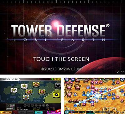 In addition to the game Tower Defense Nexus Defense for Android phones and tablets, you can also download Tower Defense Lost Earth for free.