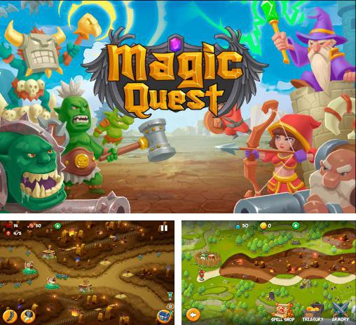In addition to the game Boom and doom for Android phones and tablets, you can also download Tower defense: Magic quest for free.