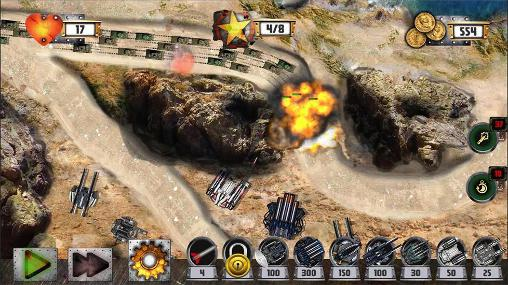 Tower defense: Tank war screenshot 3