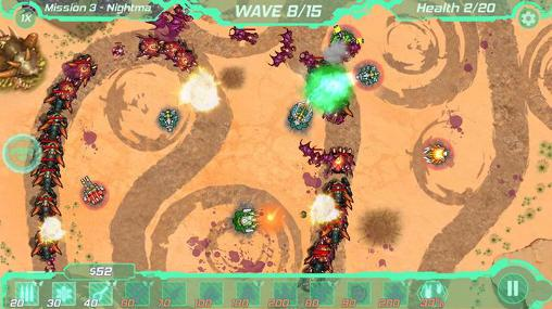 Screenshots von Tower defense zone für Android-Tablet, Smartphone.