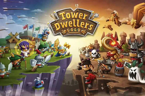 Tower dwellers: Gold poster