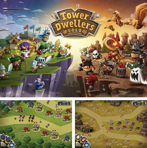 In addition to the game Kingdom Rush for Android phones and tablets, you can also download Tower dwellers: Gold for free.