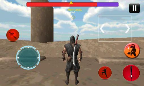Capturas de pantalla de Tower ninja assassin warrior para tabletas y teléfonos Android.