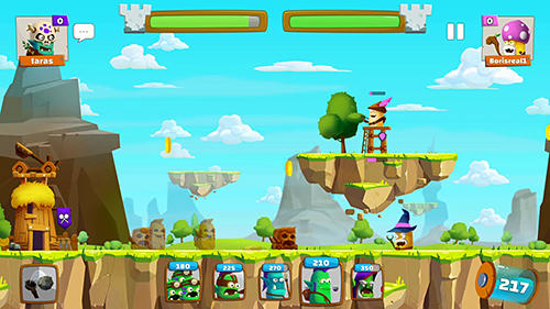 Screenshots do Tower rush: Online pvp strategy - Perigoso para tablet e celular Android.