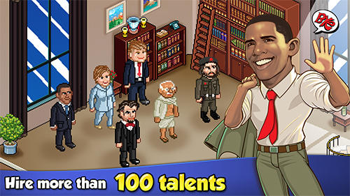 Tower sim: Celebrities city. Trump and Hillary screenshot 4