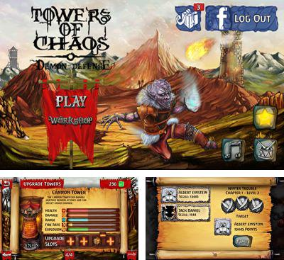 In addition to the game Shoot The Fokkers for Android phones and tablets, you can also download Towers of Chaos - Demon Defense for free.