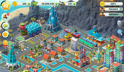 Town city: Village building sim paradise game 4 U скриншот 2