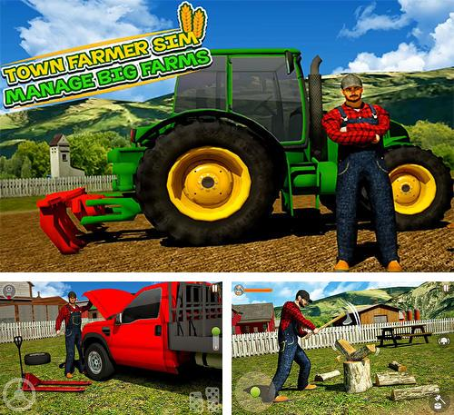 Town farmer sim: Manage big farms