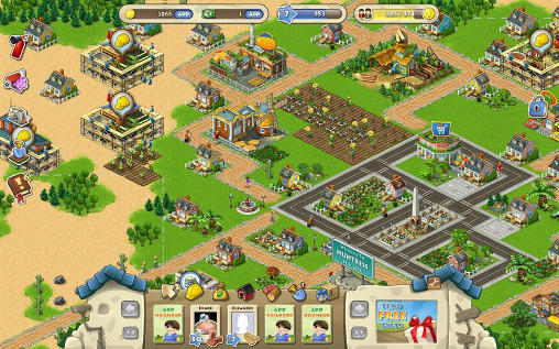 Screenshots of the Township for Android tablet, phone.