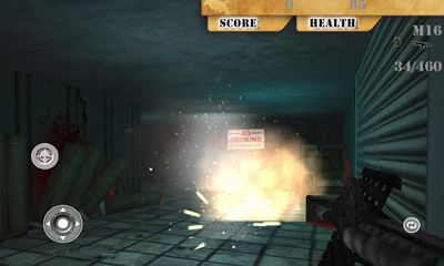Screenshots of the Toxin Zombie Annihilation for Android tablet, phone.