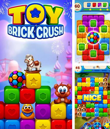 Toy brick crush