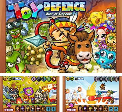 In addition to the game Magical Magic for Android phones and tablets, you can also download Toy Defence for free.