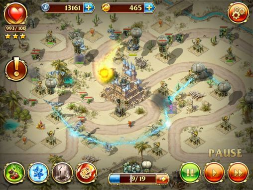 Screenshots von Toy defense 3: Fantasy für Android-Tablet, Smartphone.